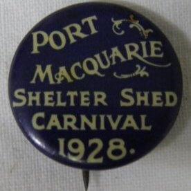 Badge, Shelter Shed Carnival 1928