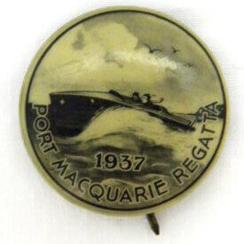 Regatta Badge 1937