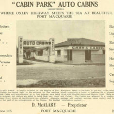 Cabins-Advertisement,-The-Port-Pictorial--1946