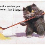 Postcard-Hope-this-reaches-you-from-Port-Macquarie--1930s