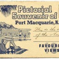 Postcard-Pictorial-Souvenir-of-Port-Macquarie--1930s