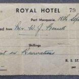 Receipt--Royal-Hotel--1937-