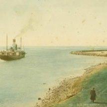 SS-Macquarie-leaving-Port---c1914