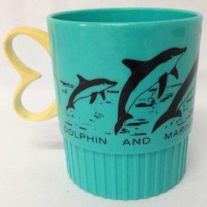 Souvenir-Mug-Dolphin-and-Marine-Park-1970s