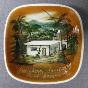 Souvenir-Plate-Sea-Acres-Sanctuary--1960s